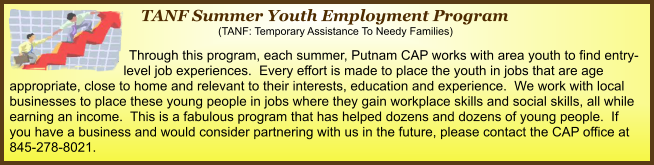 2014 Summer Youth Employment